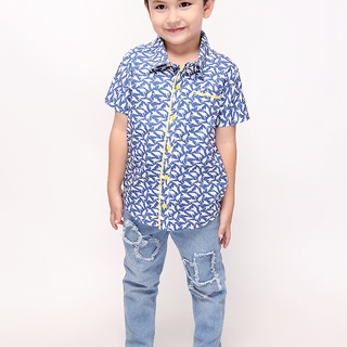 BASICS FOR KIDS BOYS POLO - BLUE (B309325-B309335)