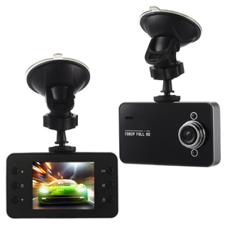 2.4-inch HD LCD Car Vehicle Blackbox DVR Car Camera Video Recorder Dash Cam (Black)