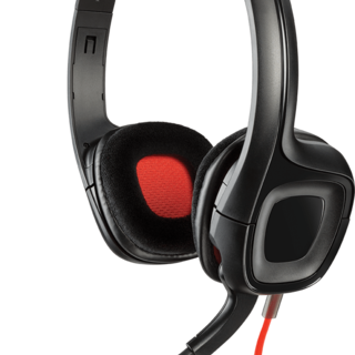 Plantronics GameCom 318 Stereo Gaming Headset (Black)