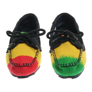 The Shoe Cycle Ladies Rasta Topsider (rggetoplady01)