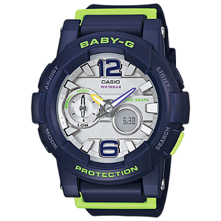Casio Baby-G Analog Watch BGA-180-2BDR