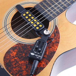 Wooden Guitar Pickup Tone/Volume Adjustable Tuners New