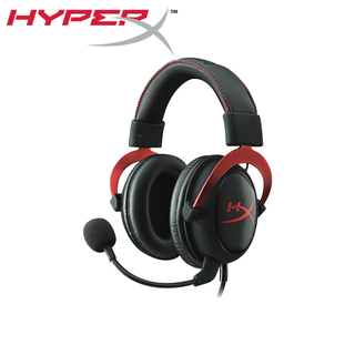 HyperX Cloud II Gaming Headset for PC, Xbox One, PS4, Wii U (KHX-HSCP-RD)