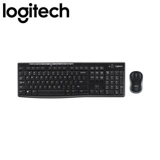Logitech MK270R Wireless Keyboard and Mouse (Black)
