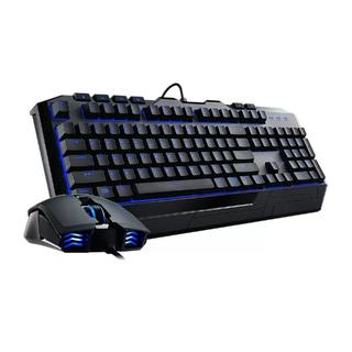 Cooler Master Devastator II - Blue LED Gaming Keyboard and Mouse Combo Bundle