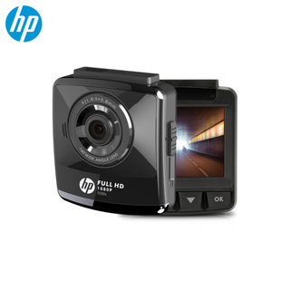 HP f330s 1080p Full HD Car Camcorder (Black)
