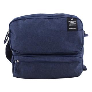 Weekeight Messenger Bag (Navy Blue)