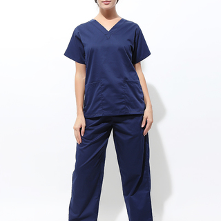 FLAT V-NECK SCRUB SUIT