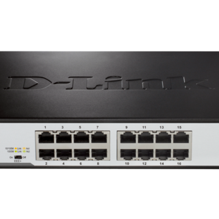 D-Link DGS-1016D 16-Port Gigabit Switch (Black)