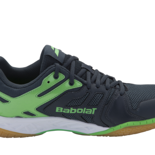 Babolat SHADOW TEAM M Badminton Shoes ANTH/FLUGRN