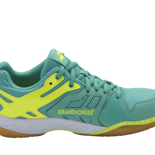 Babolat SHADOW TEAM W Badminton Shoes SEA GRN/FLUO YEL