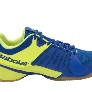 Babolat SHADOW SPIRIT M Badminton Shoes BLUE/FLOU YEL