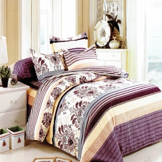 Queen's Classic Linen Collection Bedsheet Set of 3 (AOIE-T047)