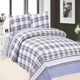 Queen's Classic Linen Collection Bedsheet Set of 3 (AOIE-T026)