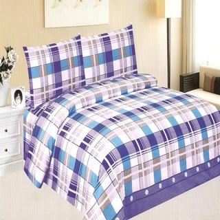 Queen's Classic Linen Collection Bedsheet Set of 3 (AOIE-T031)