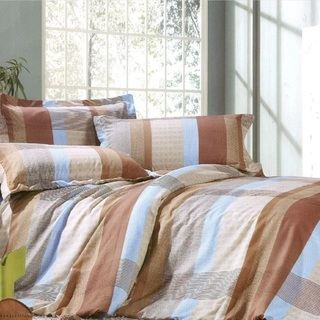 Queen's Special Linen Collection Bedsheet Set of 3 (QSBL-T026)
