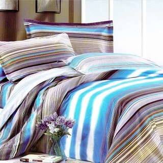 Queen's Special Linen Collection Bedsheet Set of 3 (QSBL-T046)