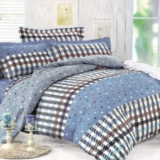 Queen's Special Linen Collection Bedsheet Set of 3 (QSBL-T024)