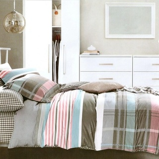 Queen's Special Linen Collection Bedsheet Set of 3 (QSBL-T119)