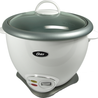 Oster White 7-Cup Multi-use Rice Cooker (4728)