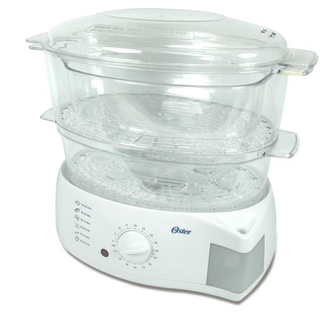 Oster White Food Steamer (6711)