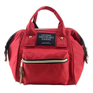 Travel Manila Hand Bag (Red)