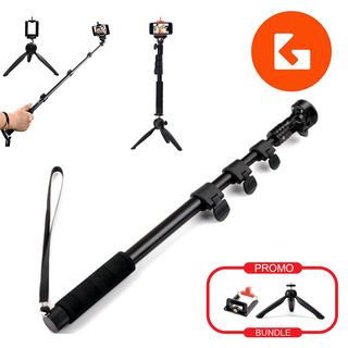 (BUNDLE SET) Go Mobile Gears Yunteng Remote Monopod Tripod Set