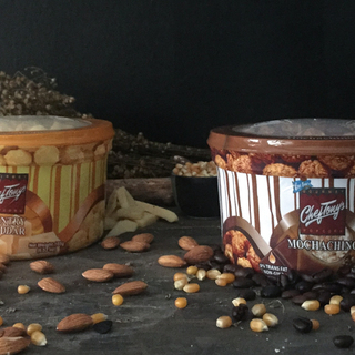 Country Cheddar + Mochachino W/ Almonds
