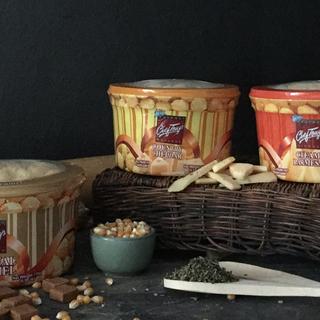 Original Caramel + Country Cheddar + Creamy Parmesan