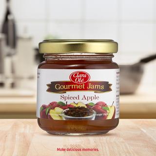 Clara Ole Gourmet Jams Spiced Apple 120g