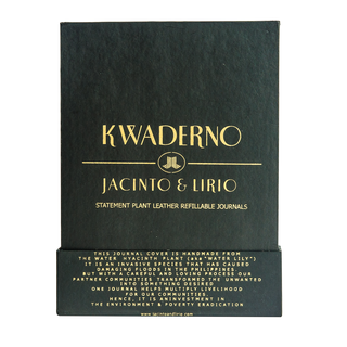 J&L Hardbox Packaging for Medium Kwadernos