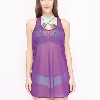 ANGELFISH COVER UPS MESH VIOLET (1112)