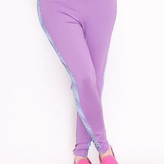 Sassa Spandex Long Pants (Purple-2722)