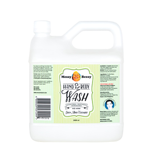 Messy Bessy Hand and Body Wash Green Apple Cucumber 2L