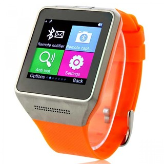 Generic Smart Bluetooth Phone Watch with Camera - Orange (LGGEN0GV08ORG-0002631)