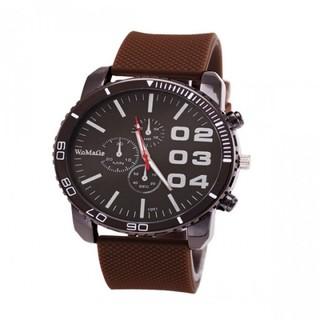 Generic Men Stainless Sport Watch - Brown (LGGEN00001BRW-0004277)