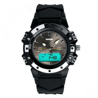 Skmei 30m Waterproof Digital Wristwatch - Black (LGSKMSKMEIBLK-0004243)