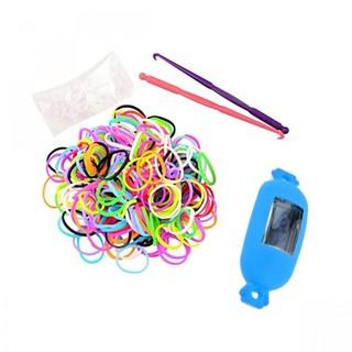 Generic Candy Style Loom Watch Bracelet - Blue (LGGEN00001BLU-0003171)