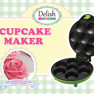 Delish Treats Cupcake Maker