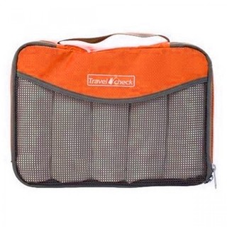 Generic Travel Check Luggage Organizer Bag – Orange (LGGEN00001ORG-3429)