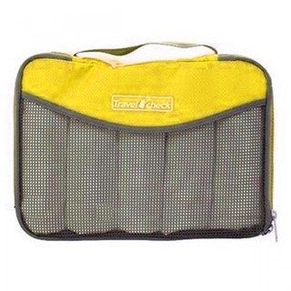 Generic Travel Check Luggage Organizer Bag – Yellow (LGGEN00001YEL-0003430)