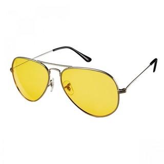 Generic Aviator Night View Sunglasses - Yellow (LGGEN00001YEL-0002902)