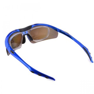 Generic Polarize Sunglasses With 4 Interchangeable Colored Lens - Blue (LGGEN00001BLU-0004826)