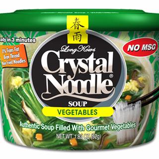 Long Kow's Crystal Noodle Soup Vegetables & Egg 51g