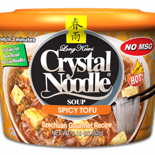 Long Kow's Crystal Noodle Soup Spicy Tofu 60g