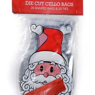 XMAS CELLO DIE DUT 20CT (51896)