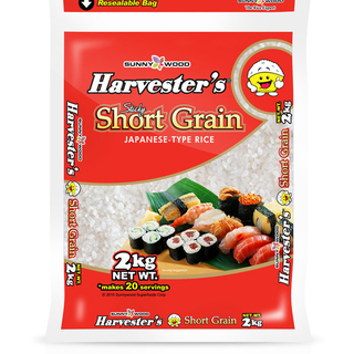 HARVESTER'S Short Grain 2kg (4809010955920)