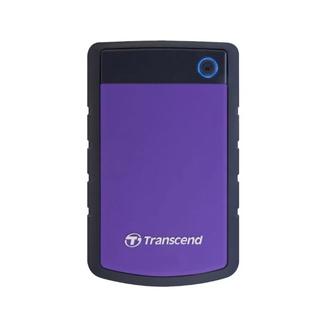 Transcend StoreJet 25H3 1TB External Hard Drive (Purple)