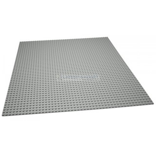 BUILDING BLOCK BASE PLATE (40X40CM)- GREY