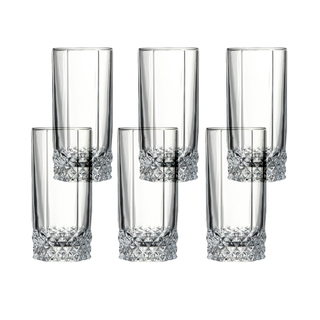 Pasabahce Valse Long Drink 293cc 10oz, Set of 6 (42942)